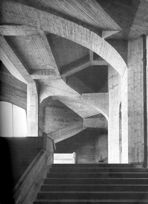 Rudolf Steiner Architektur by Rudolf Steiner S Second Goetheanum Interior Poured