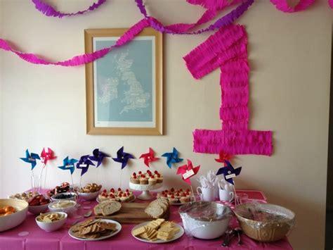 decoration anniversaire fille 1 an anniversaire enfant id 233 es d 233 co l anniversaire fille