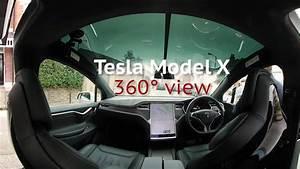 Tesla Model X 360° passenger experience - YouTube