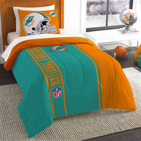 miami dolphins twin comforter bed set