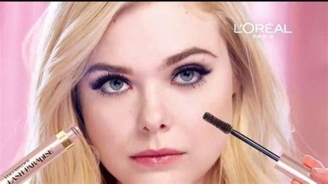Elle Fanning Face of L'Oréal Paris . InStyle