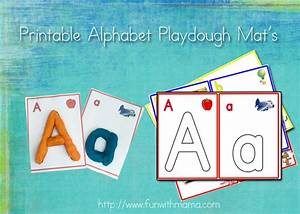 alphabet letter play dough mats numbers and arabic With playdough letter mats