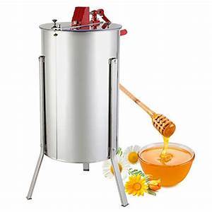 Foodking 3 Frame Stainless Steel Manual Honey Extractor Review
