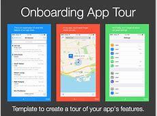 App Onboarding Tour Template Sketch freebie Download
