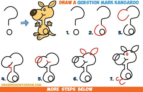 easy pictures to draw kangaroo drawing for kids www pixshark com images galleries with a bite