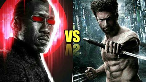 Blade Vs Wolverine - YouTube