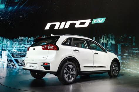 All Ev Cars by New Kia Niro Ev Specs For All Electric Crossover Revealed