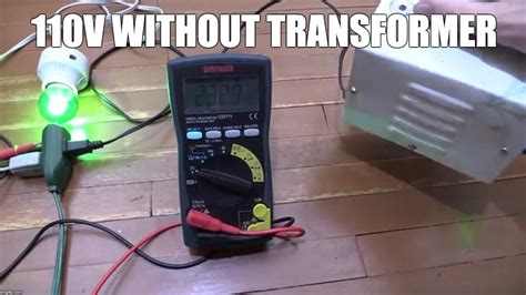 Diy 220v Wiring by 110v Without A Step Transformer