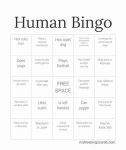 best 25 human bingo ideas on pinterest icebreakers With human bingo template