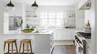 all white kitchen Amazing of All White Kitchens 12 #8093