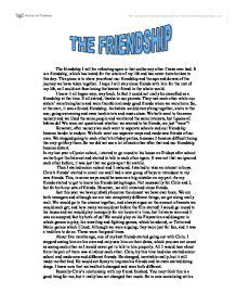 essay about friendship
