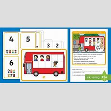 * New * Eyfs Maths Subtraction Challenge At The Bus Stop Maths Challenge