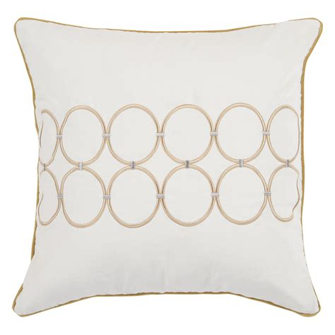 white and gold white and gold decorative pillows