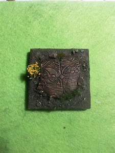 Painted And Handmade 10 X 25 Mm Round Base