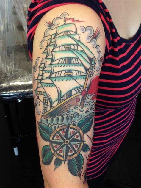 50 Awesome Nautical Tattoo Designs And Ideas