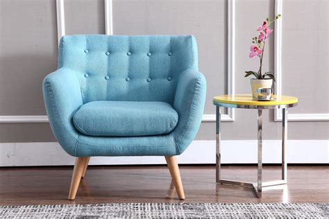 chaises casa modern turquoise fabric accent chair omaha nebraska vig