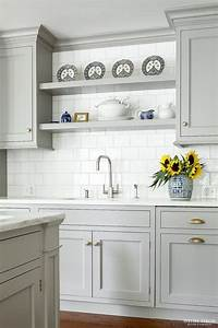 6 kitchen cabinet color trends decorated life With kitchen colors with white cabinets with trend stickers