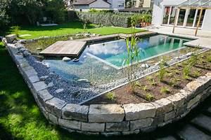 Schwimmteich Oder Pool : schwimmteich mit holzdeck modern pools stuttgart von grimm g rten ~ Whattoseeinmadrid.com Haus und Dekorationen