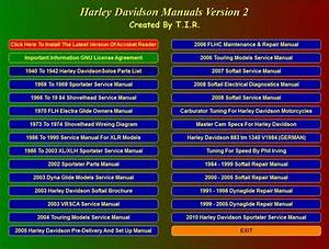 Harley Davidson Manuals From 1940 To 2010