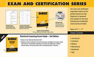 Dewalt Electrical Licensing Exam Guide  Based On The Nec