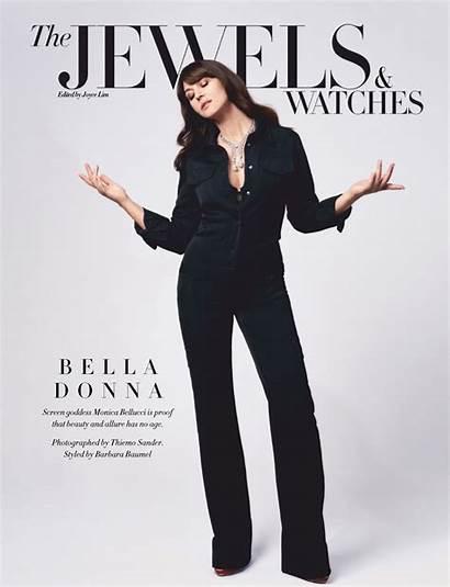 Monica Bellucci Harper Bazaar February Singapore Magazine