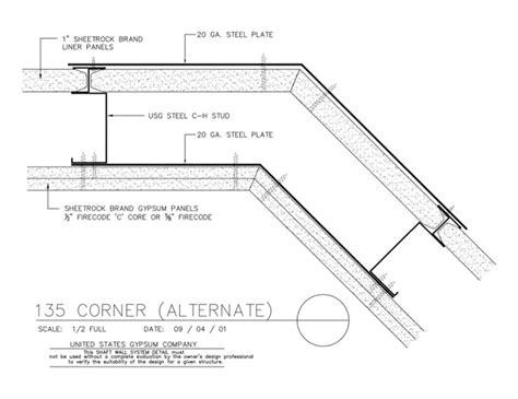 USG Design Studio | 09 21 16.23.116 Shaft Wall Shaft Wall ...