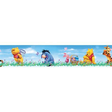 Disney Winnie The Pooh Multicolour Border   Departments