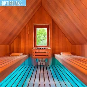 Kinderbett Unter Dachschräge : sauna unter der dachschr ge optirelax blog ~ Michelbontemps.com Haus und Dekorationen