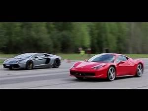 Ferrari Vs Lamborghini : 50p lamborghini aventador lp700 4 vs ferrari 458 italia presscar x 2 races youtube ~ Medecine-chirurgie-esthetiques.com Avis de Voitures