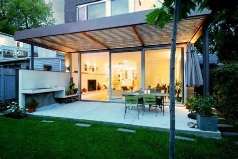 terrasse couverte 30 id 233 es sur l auvent en bois et la pergola architecture terrasse