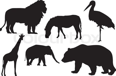 bloodthirsty wild animal  blog wild animal silhouettes