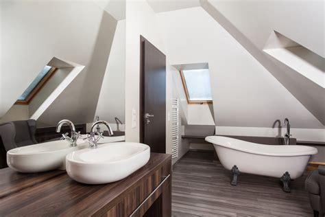 comment amenager une salle de bain dans le grenier