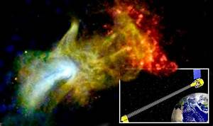 "NASA scientists say they discovered ""the hand of God ..."