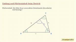 Umfang Dreieck Berechnen : fl cheninhalt und umfang ny34 messianica ~ Themetempest.com Abrechnung