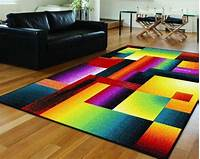 colorful area rugs tayse-rugs-Living-Room-Contemporary-with-area-rug-colorful ...