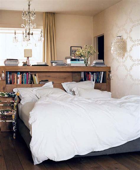 headboard storage ideas   bedroom