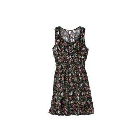 target black floor l target xhilaration juniors floral dress black 18