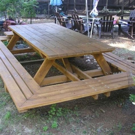 15 best ideas about picnic tables on diy
