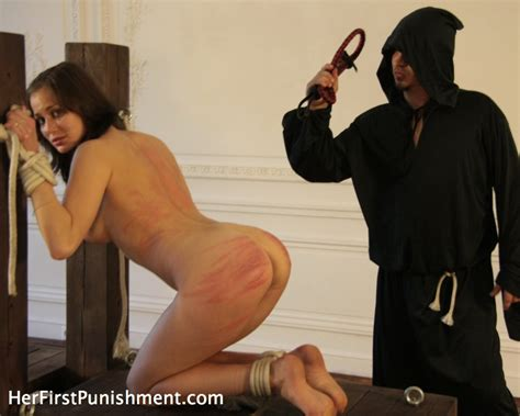 Naughty Nun Ends Up Tied To A Pole And Span Xxx Dessert