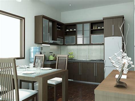 koleksi contoh gambar desain interior dapur sederhana ukuran