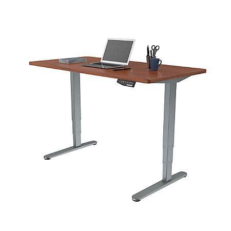 office depot standing desk loctek electric height adjustable stand up desk