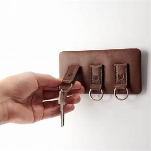 Magnetic, Key, Holder, Tobacco, 2, Keychains, -, Capra, Leather