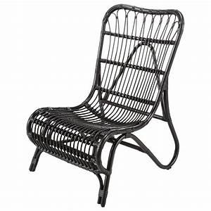 Rocking Chair Maison Du Monde : fauteuil rotin noir louisiane maisons du monde ~ Teatrodelosmanantiales.com Idées de Décoration