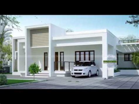 simple single floor house design youtube