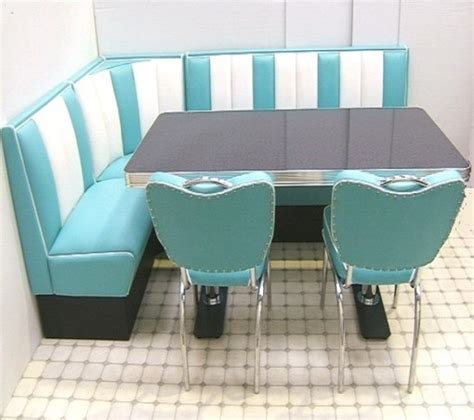 Retro Furniture Diner Booth ? Hollywood Corner Set ? 130 x