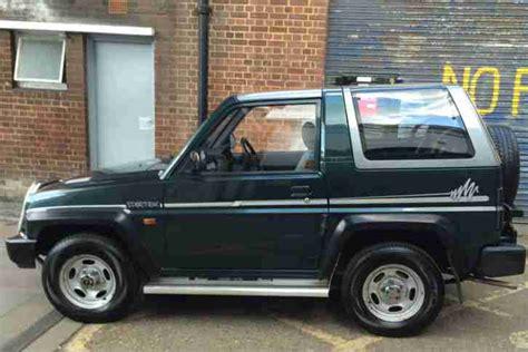 Daihatsu Sportrak Elxi. Car For Sale