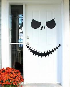 Halloween Deko Basteln : halloween deko f r die haust r basteln 50 t rdeko ideen ~ Lizthompson.info Haus und Dekorationen