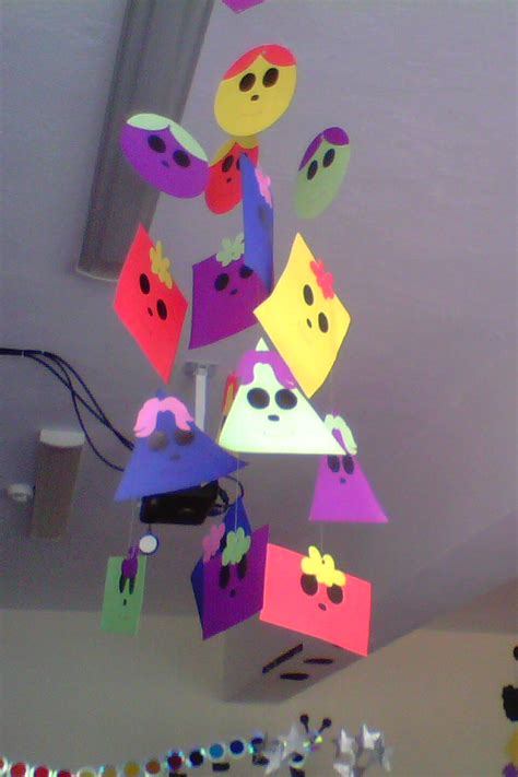 shapes bulletin board ideas classroom decorations