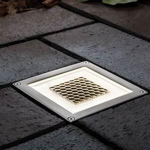 Pavé Lumineux Led : pave lumineux solaire exterieur clairage de la cuisine ~ Edinachiropracticcenter.com Idées de Décoration