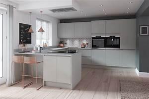 Luca, Dove, Grey, Kitchens